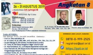 Program Pendidikan Calon Likuidator Indonesia serta Sertifikasi Likuidator Indonesia/ Certified Liquidator Indonesia (CLI)