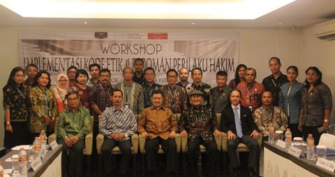 Workshop Kode Etik dan Pedoman Perilaku Hakim, Bali (Kuta, Bali, 15-17 Maret 2017)